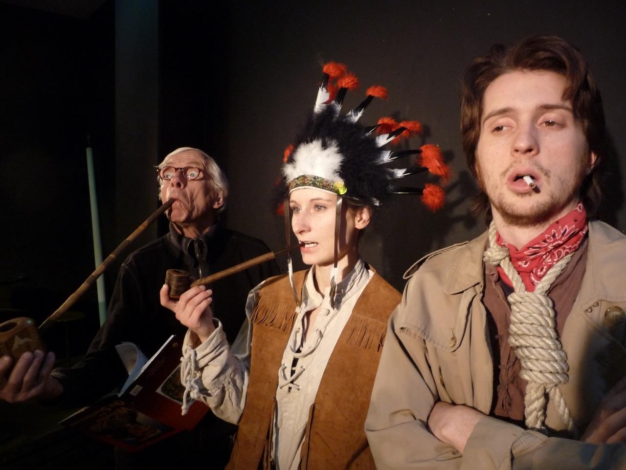 Karl Mays Schatz im Silbersee – Remake der tQ (on location)