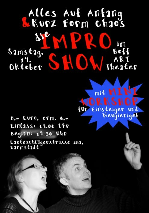 """Alles auf Anfang"" — Improvisationstheater"