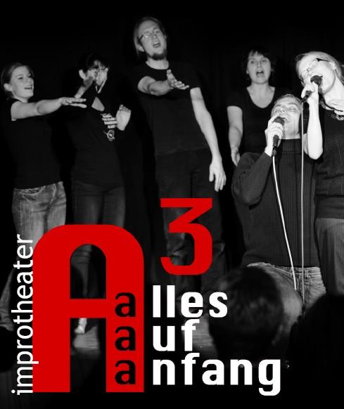 "Improtheater ""Alles auf Anfang"" im HoffART"