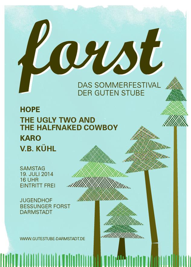 FORST – Das Openair-Festival der Guten Stube Darmstadt