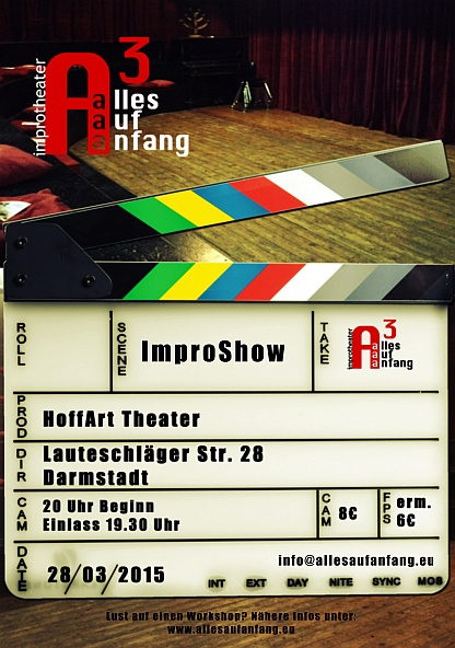 Alles auf Anfang-Improtheater