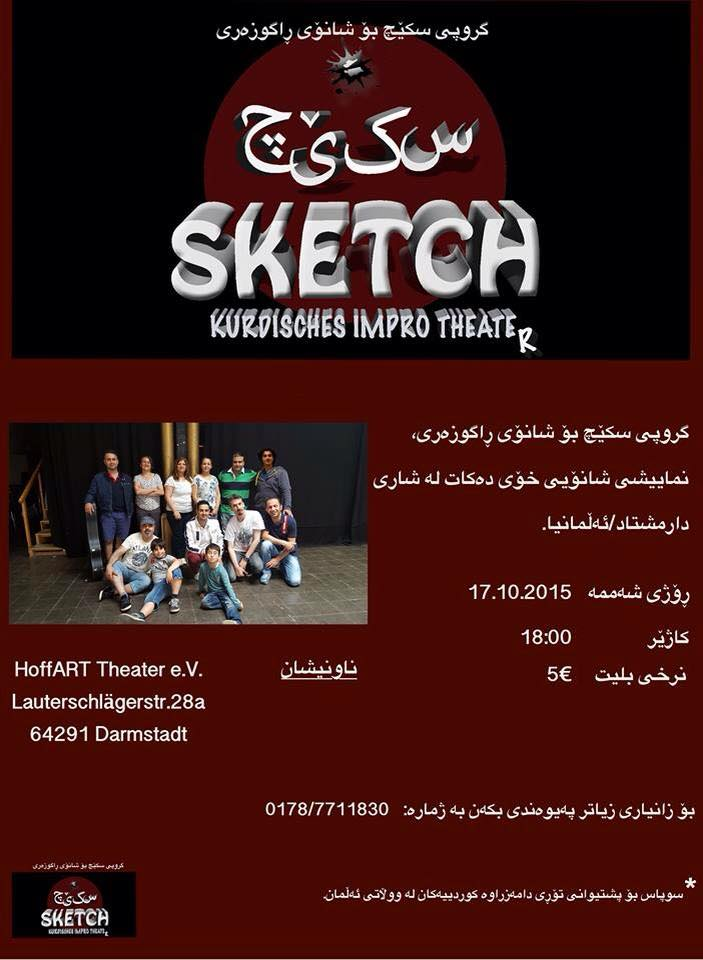 "Kurdisches Improtheater mit ""Sketch"""