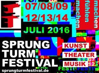 Sprungturmfestival 2016 Eröffnung