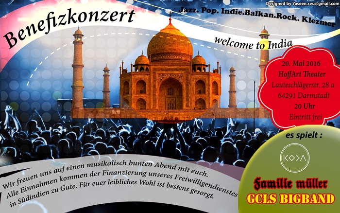 """Welcome To India"" Benefizkonzert"
