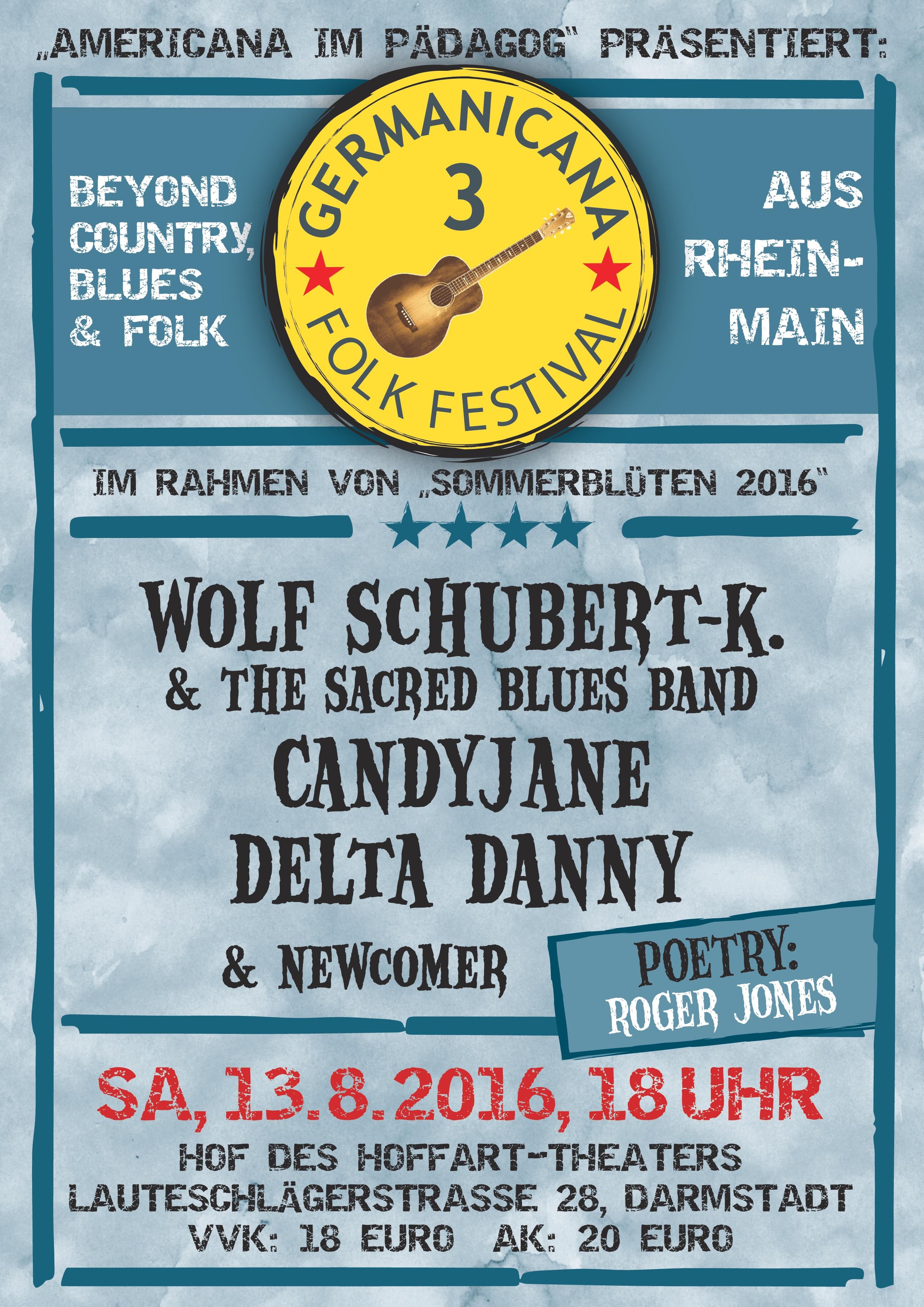 Sommerblüten im HoffART Theater: Germanicana Festival 2016