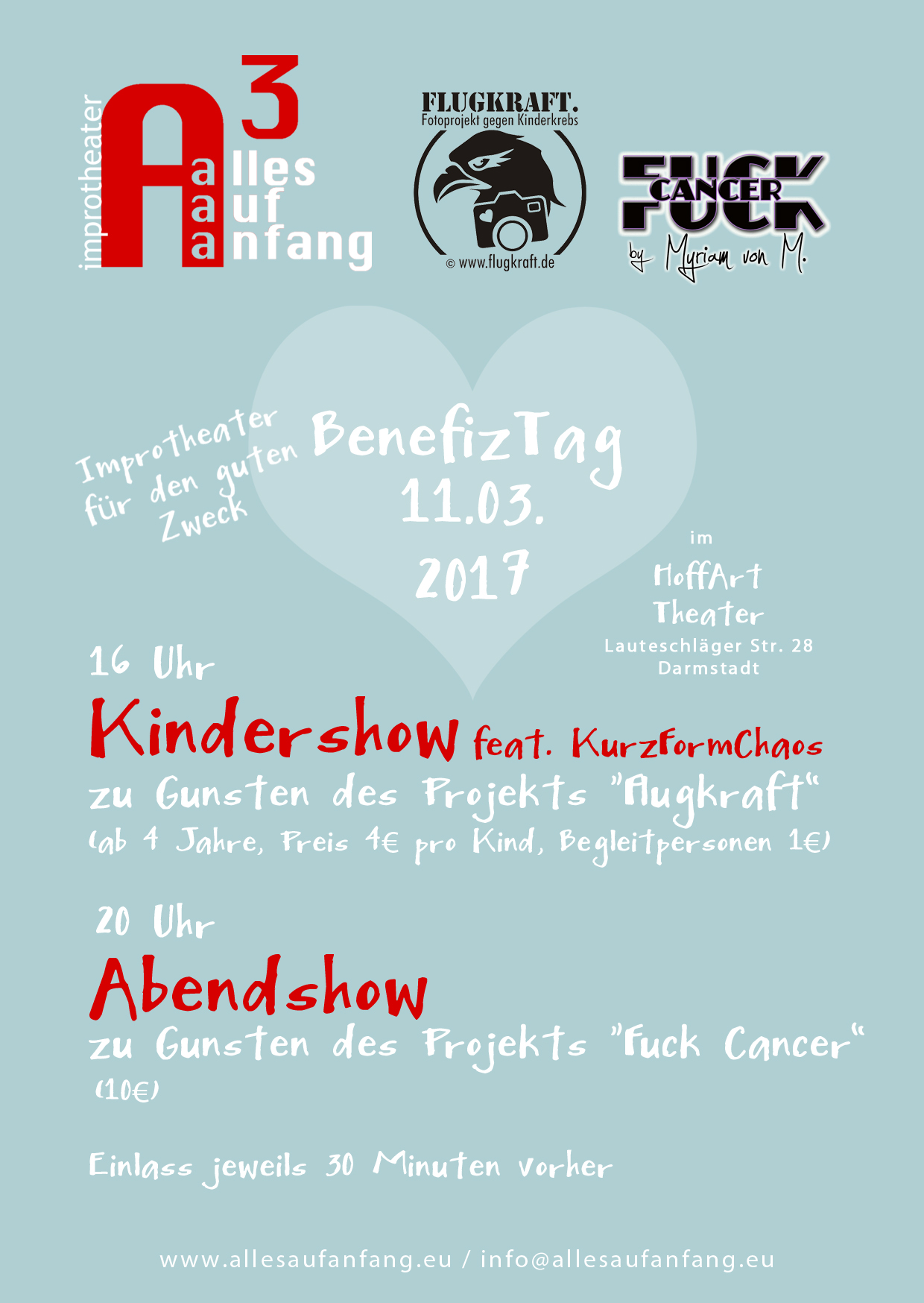 Alles Auf Anfang: Benefiz Tag Abendshow