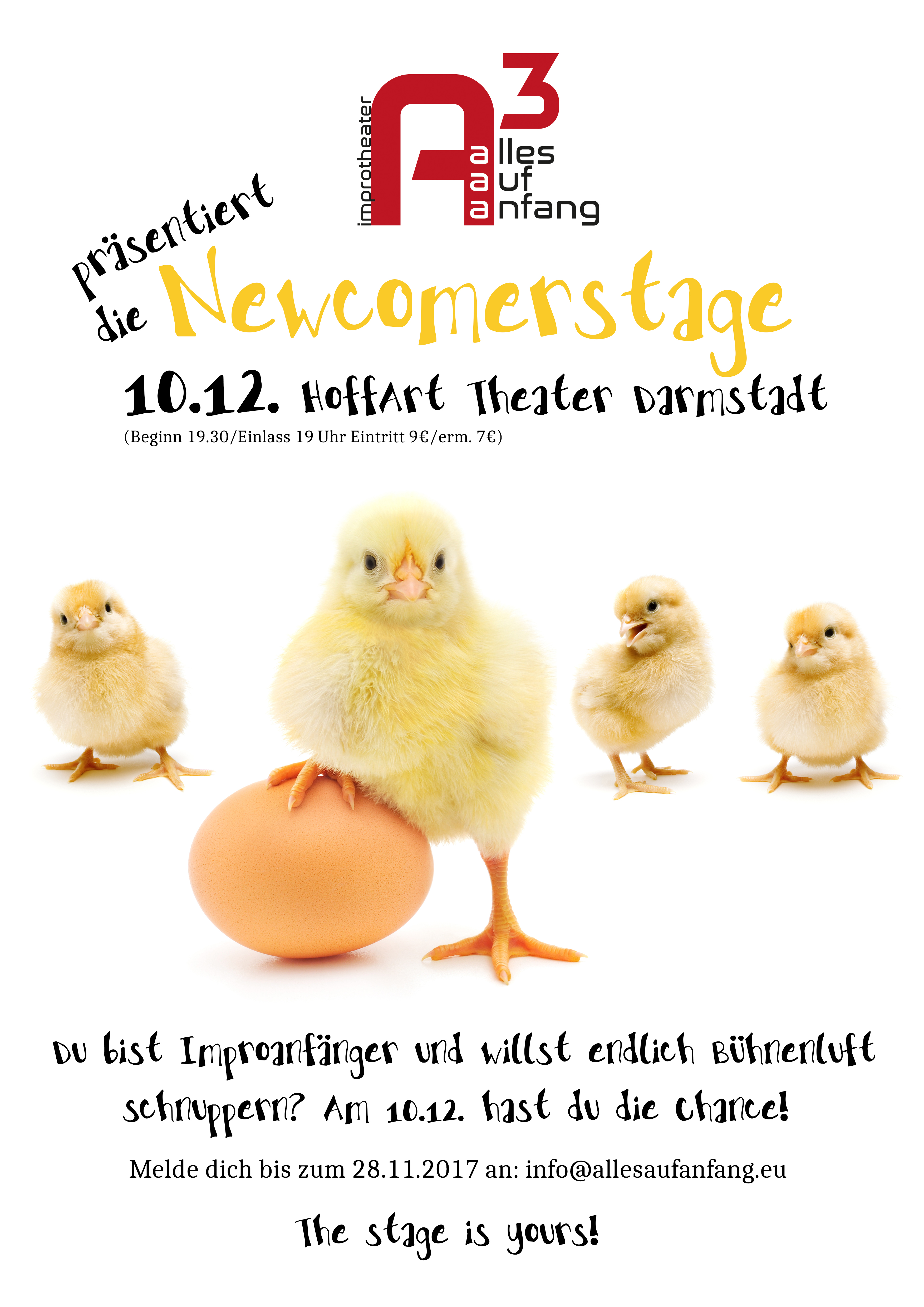 Alles Auf Anfang-Newcomer Stage