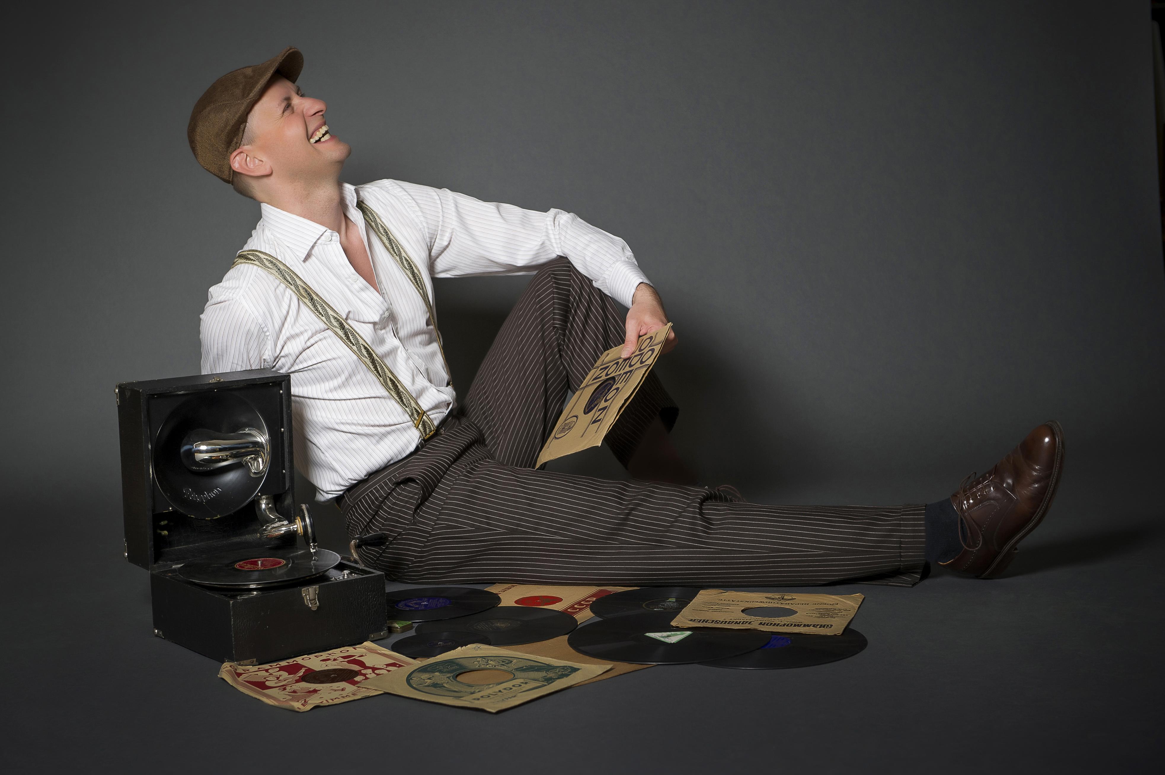 Auswärtsspiel: Jo van Nelsen – Grammophon-Lesung