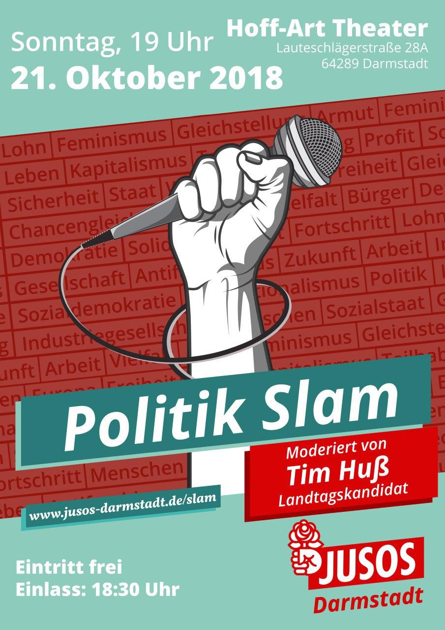 Jusos Darmstadt: Politik Slam