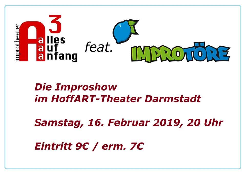 Alles Auf Anfang: Improshow feat. die Improtöre