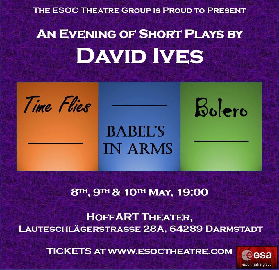 ESOC Theatre Group: An Evening of David Ives