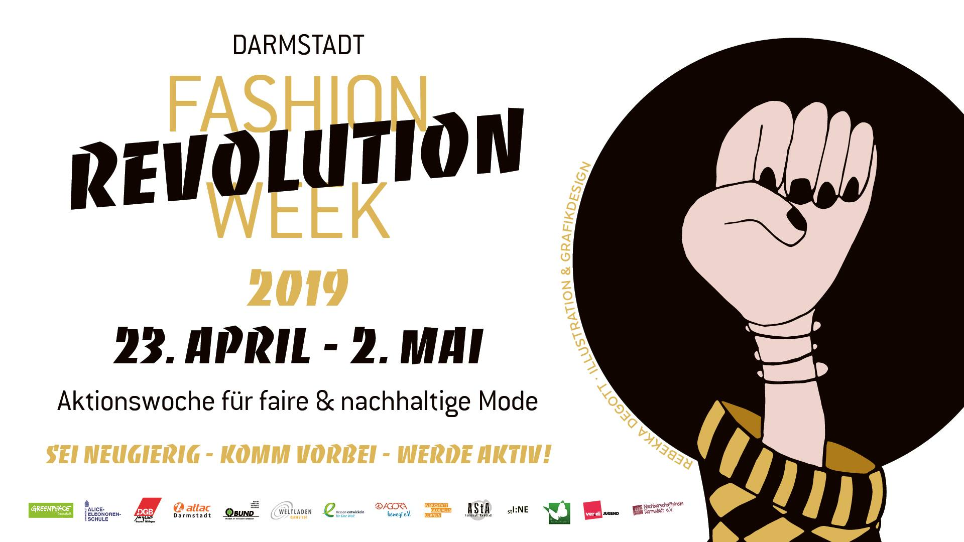 Fashion Revolution Week: Kleidertauschparty und Film