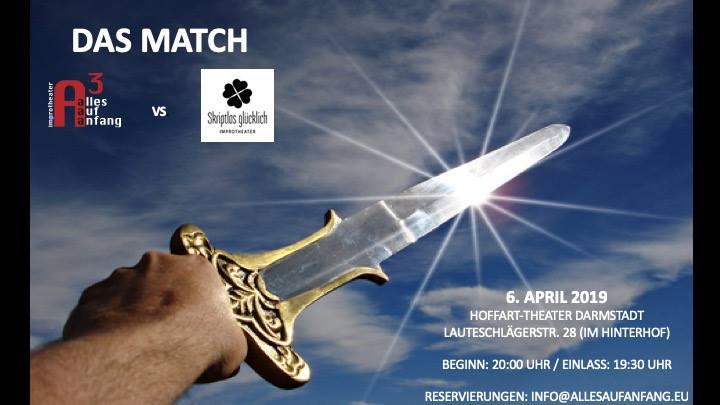 Alles Auf Anfang: Improtheater-Match mit Skriptlos glücklich