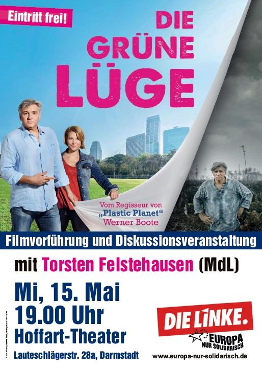 Die Linke Darmstadt- Filmabend: Die Grüne Lüge