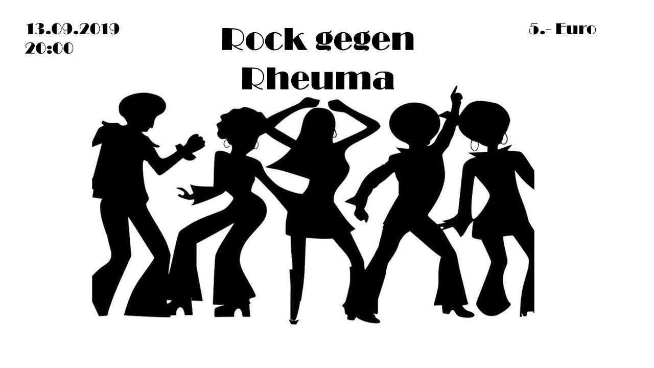 4 x Sommer im HoffART 2019: Rock gegen Rheuma