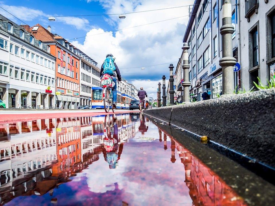 In Bewegung: Radfahren in Darmstadt