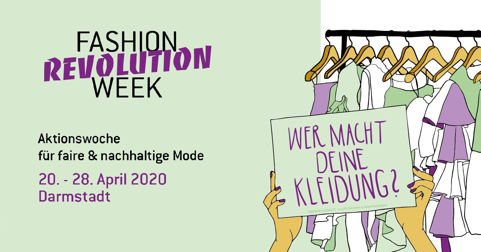 Abgesagt – Fashion Revolution Week: Kurzfilme und Siebdruck