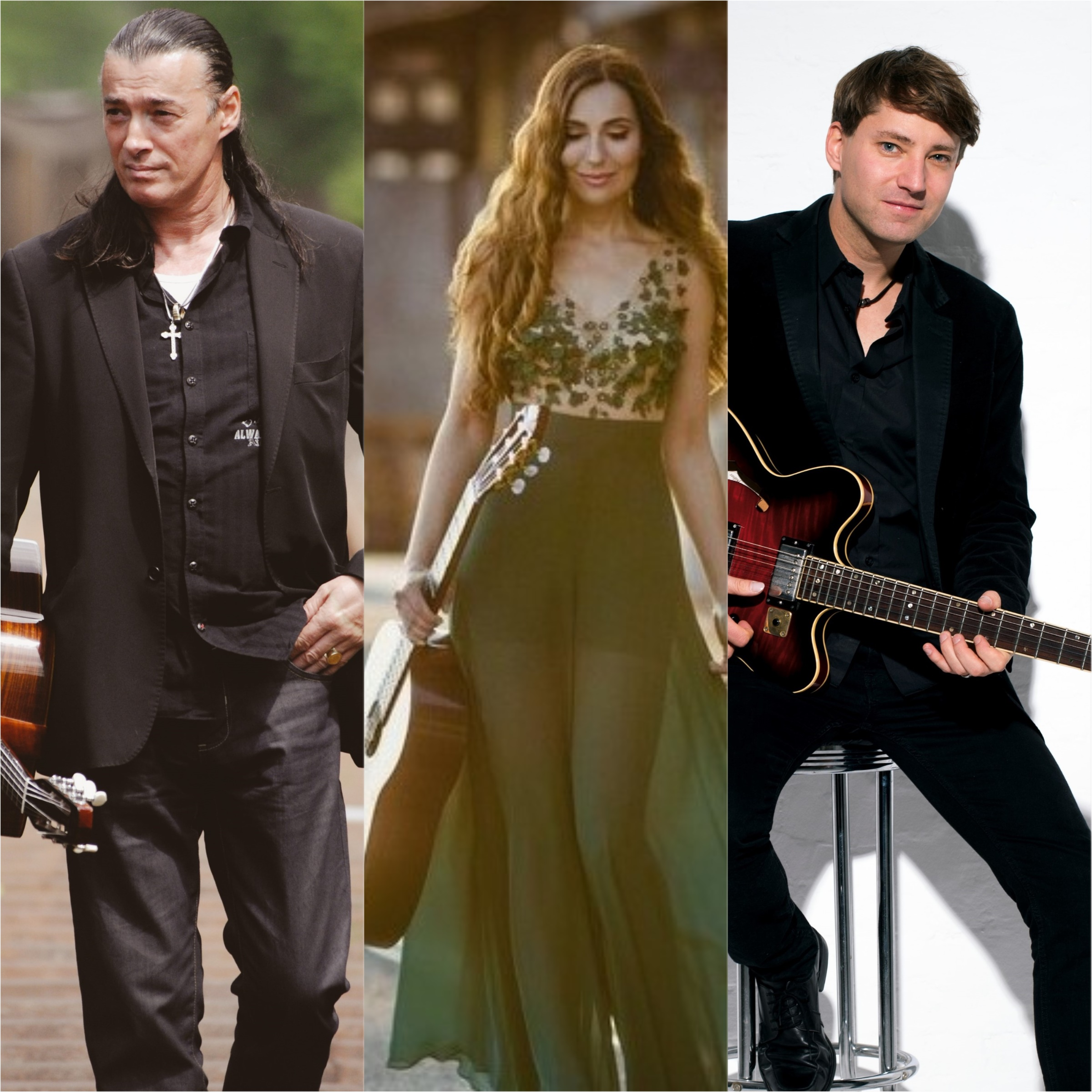 Große Gitarrennacht: Lulo Reinhardt – Yuliya Lonskaya – Daniel Stelter
