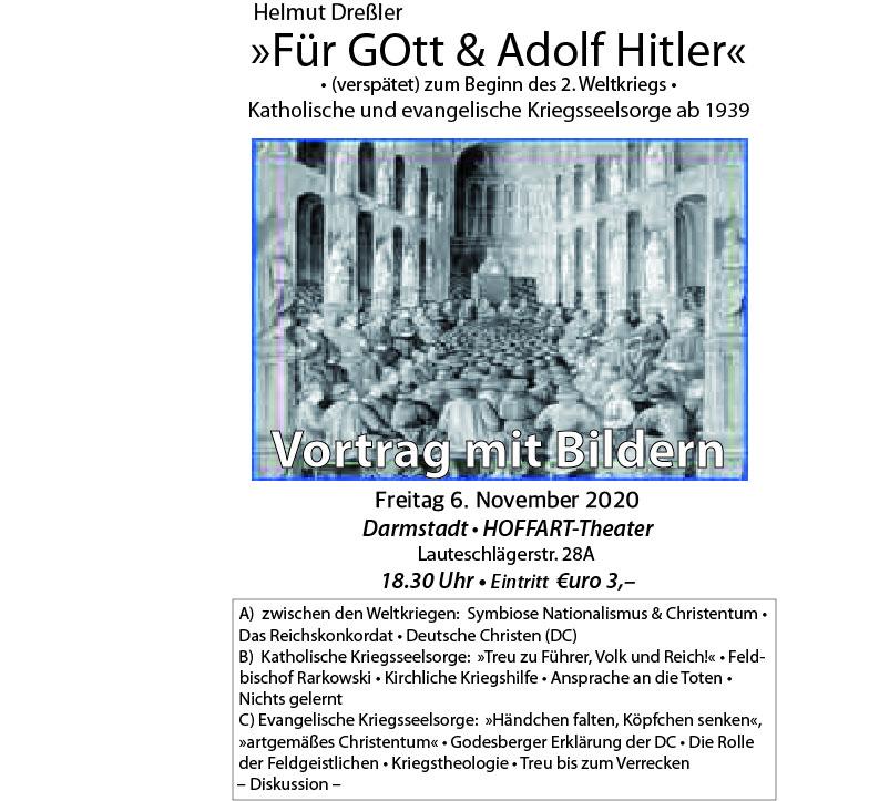 Helmut Dreßler – Für Gott & Adolf Hitler